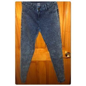 👖Acid Wash skinny jeans